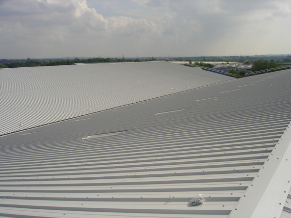 Waymade Asbestos Roof Refurbishment
