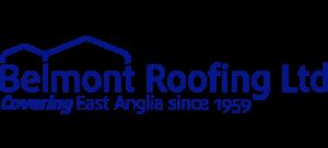 Belmont Roofing Website Logo Blue