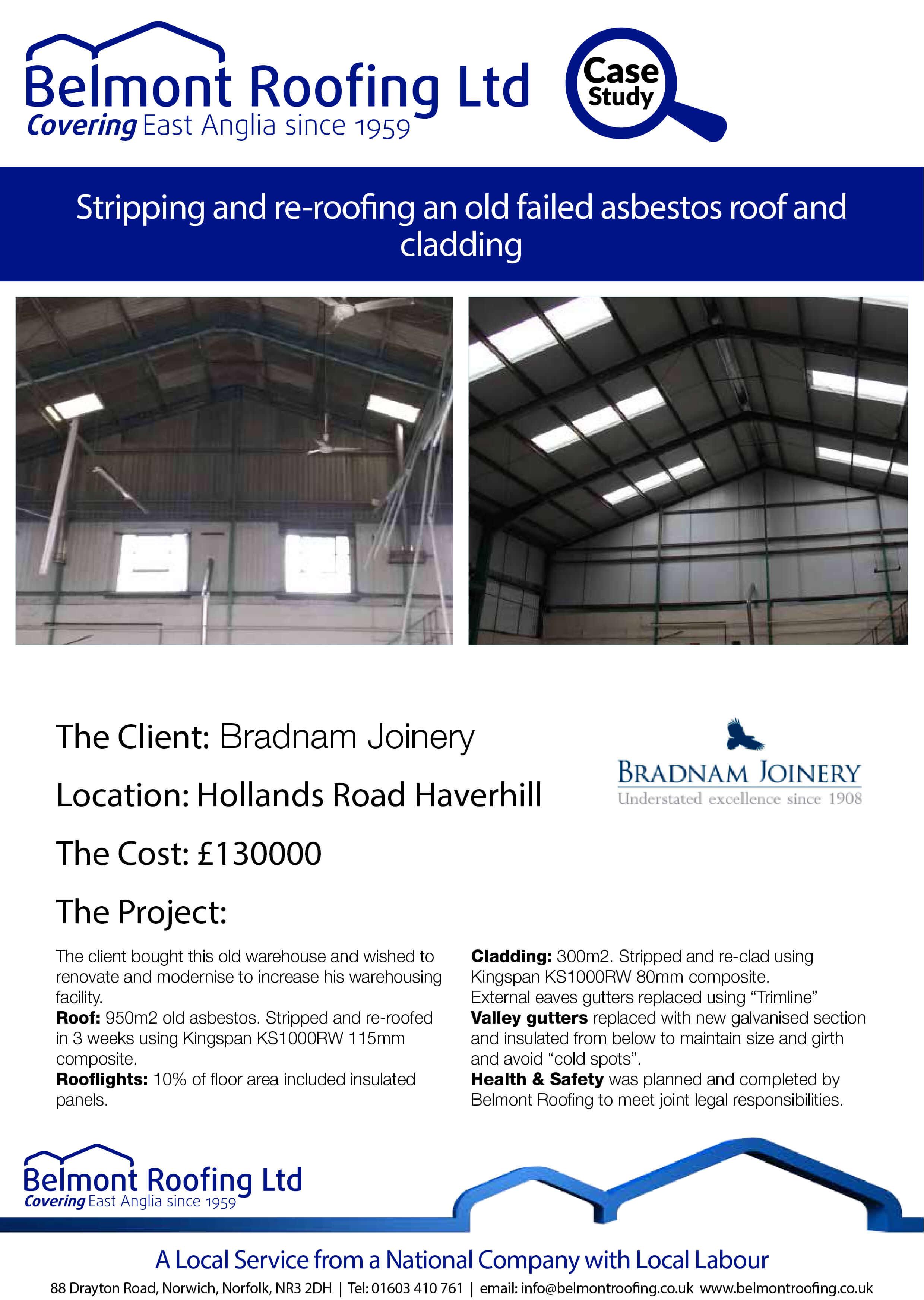 Asbestos Refurbishment Bradnam