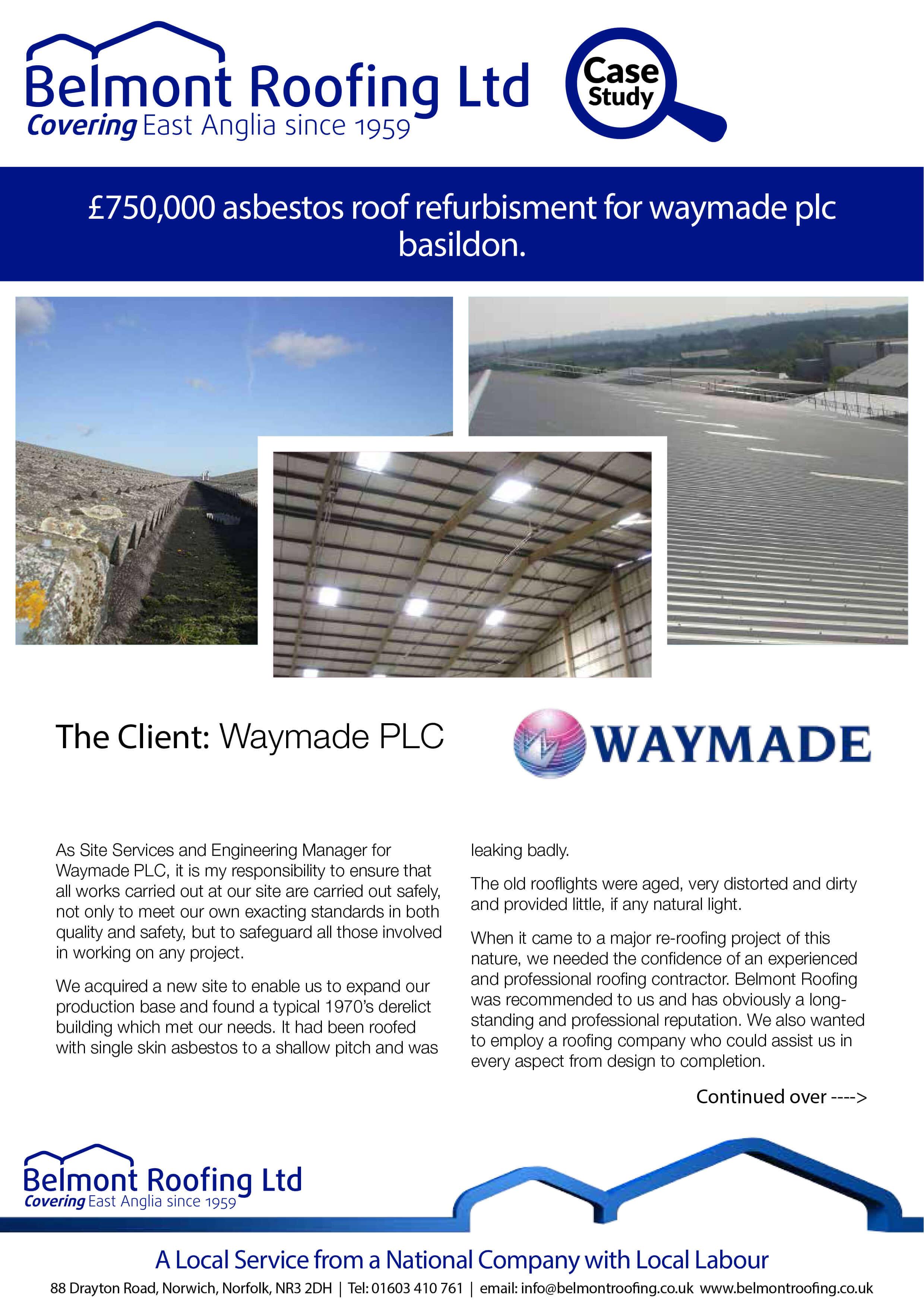 Asbestos Refurbishment Waymade