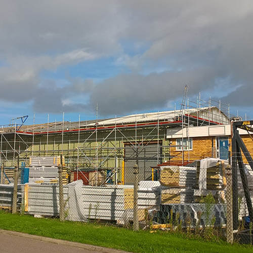 Belmont Roofing Claxton Engineering Complete Refurbishment After Norwich