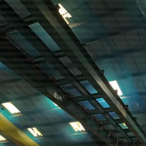 Belmont Roofing Claxton Engineering Rooflights Refurbishment Before
