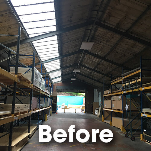 Belmont Roofing Ridgeons Ipswich Before Roof Refurbishment Norwich 3