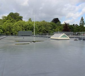 Belmont Roofing Roof Refurbishment Work at Norwich County Hall