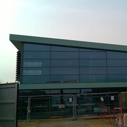Belmont Roofing Wymondham Leisure Centre Refurbishment and Wall Cladding
