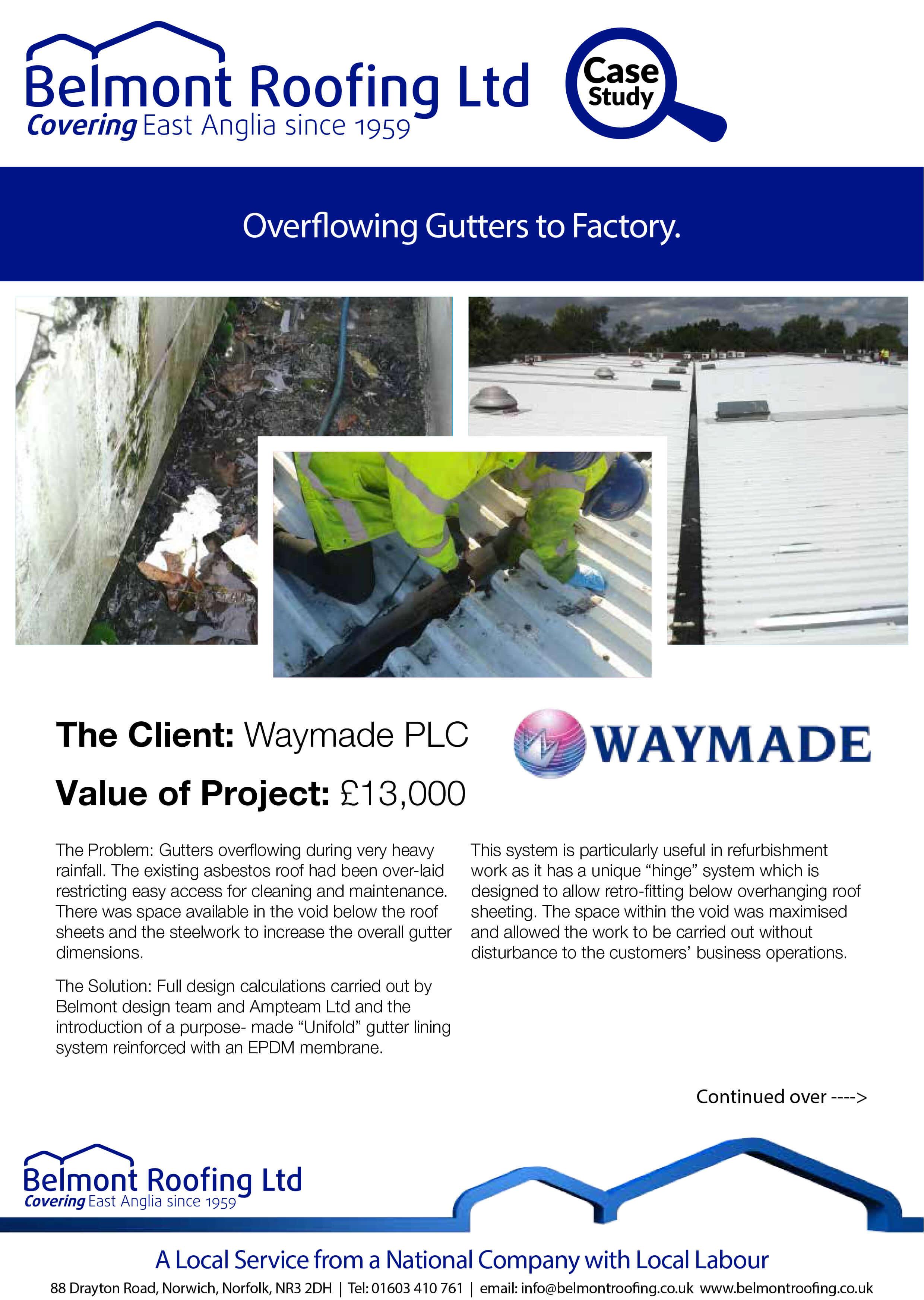Overflowing Gutters Waymade