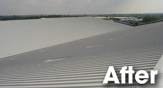 Belmont Roofing Roof Sheeting Waymade After