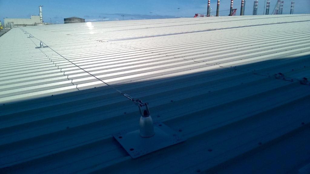Stripping & Replacement Asbestos Roof