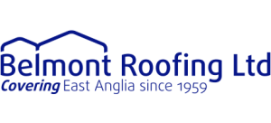 Belmont Roofing Website Logo Blue