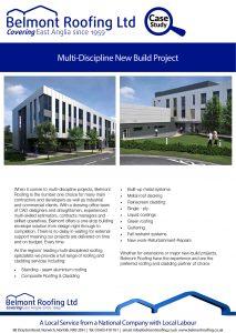Multi-Discipline New Build Project
