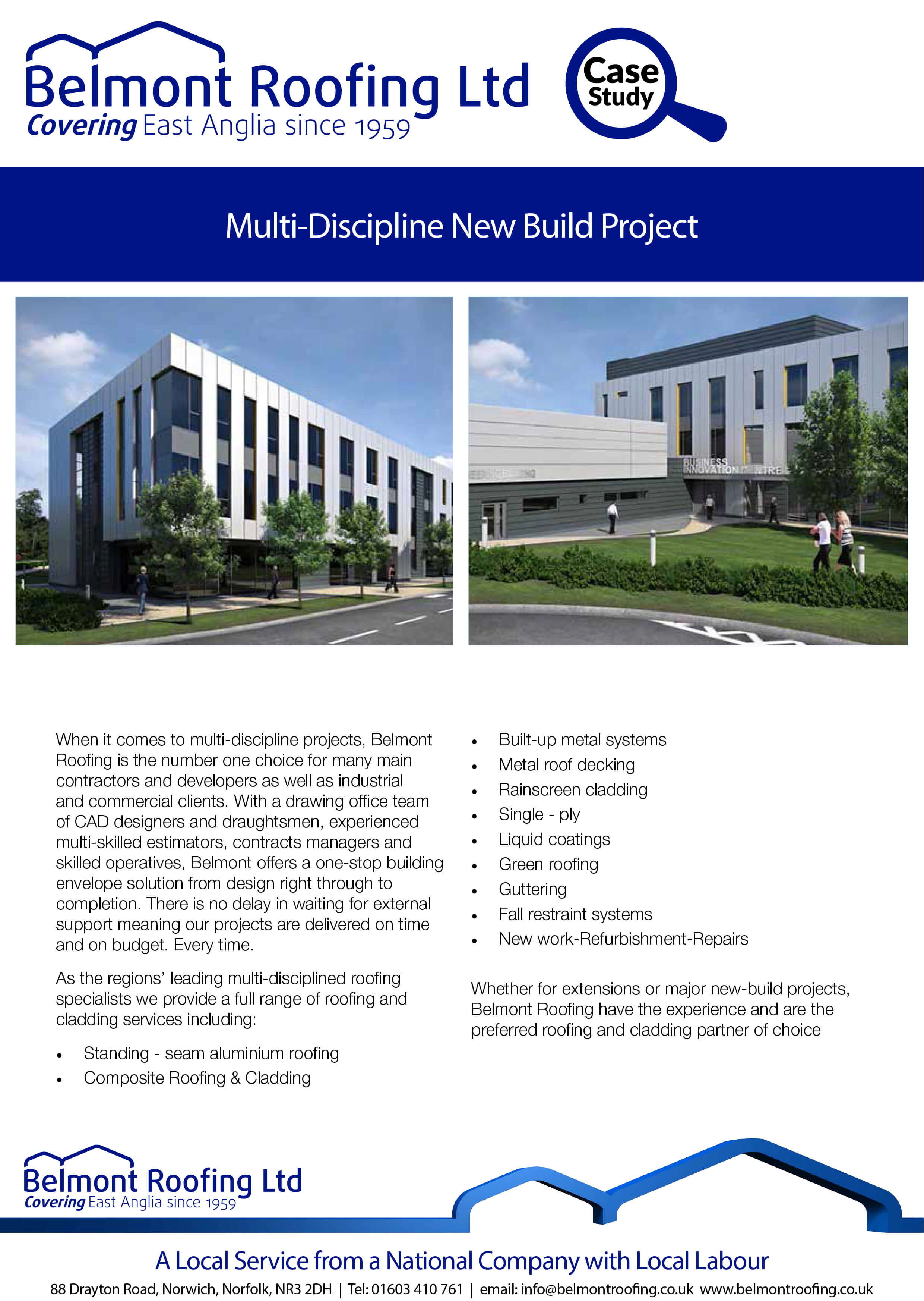 Multi-Discipline New Build Project